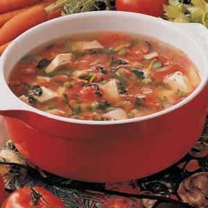 Harvest turkey soup photo 1