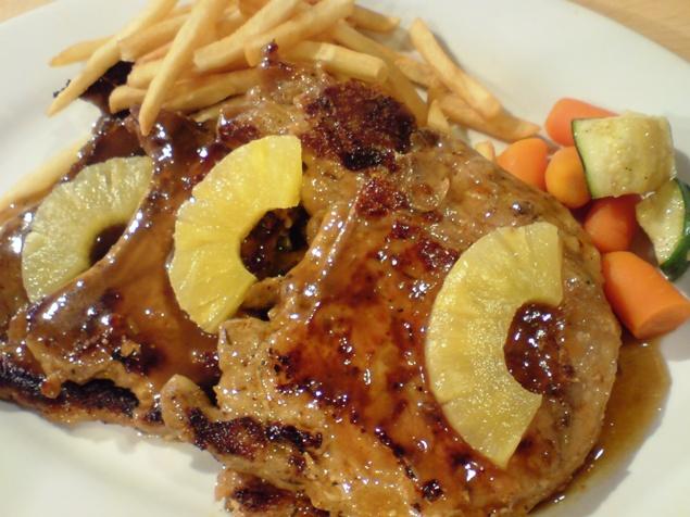 Hawaiian pork chops photo 1
