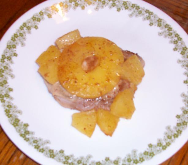 Hawaiian pork chops photo 2
