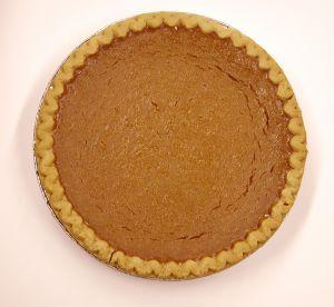 Holiday pumpkin pie photo 1