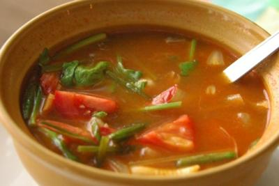 Hot and sour soup photo 1