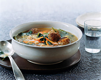 Italian meatball soup photo 2