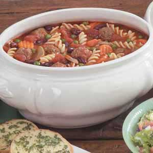 Italian meatball soup photo 3