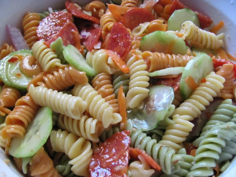 Italian pasta salad photo 1