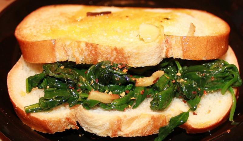 Italian spinach photo 3