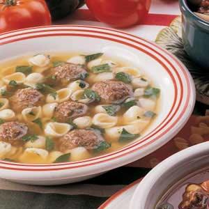 Italian wedding soup photo 2