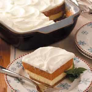 Layered pumpkin dessert photo 1