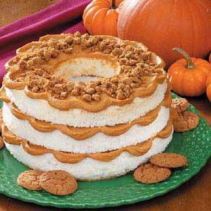 Layered pumpkin dessert photo 3