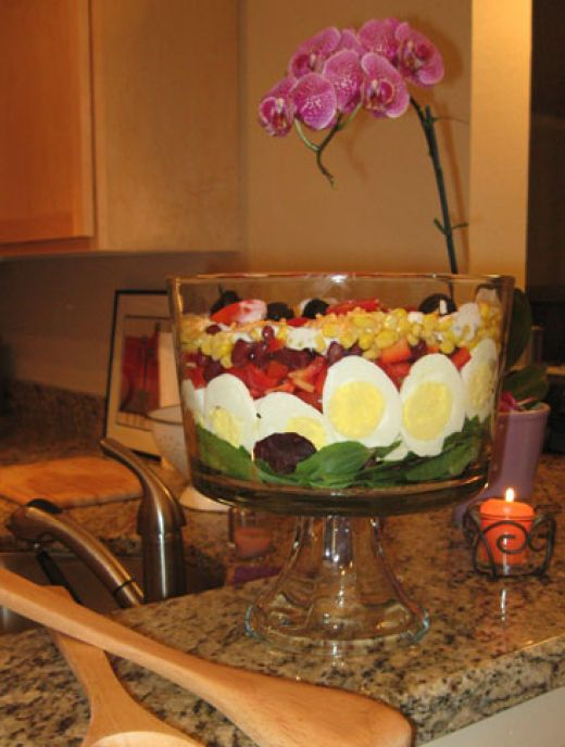 Layered salad photo 3