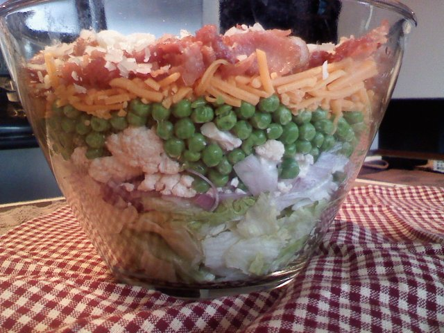 Layered salad photo 2