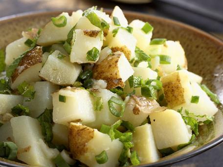 Lebanese potato salad photo 3