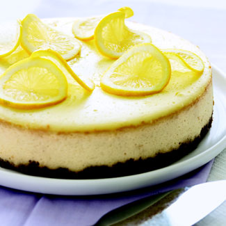 Lemon cheesecake photo 2