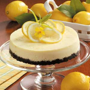 Lemon cheesecake photo 3
