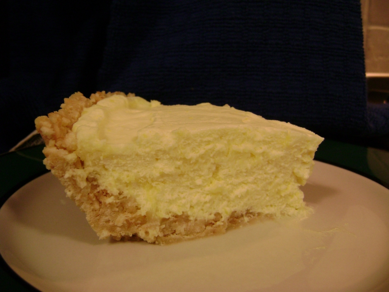 Lemon icebox pie photo 3