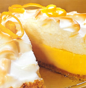 Lemon icebox pie photo 1
