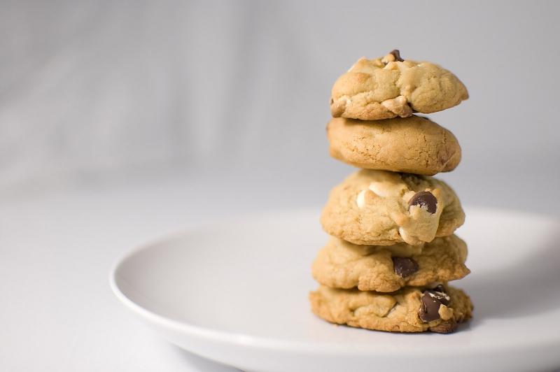 Macadamia white chocolate chip cookies photo 8