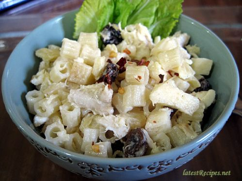 Macaroni-chicken salad photo 1