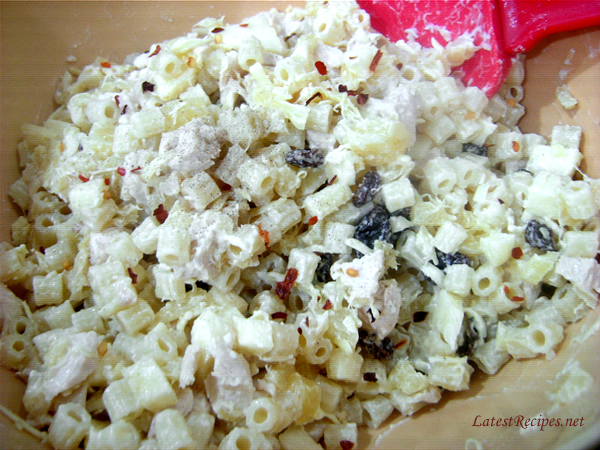 Macaroni-chicken salad photo 2