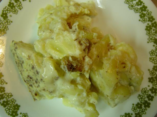 Macaroni pudding photo 2