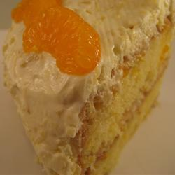 Mandarin orange cake photo 3