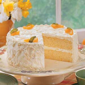 Mandarin orange cake photo 1