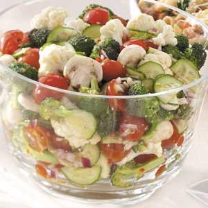 Marinated fresh vegetable salad photo 2