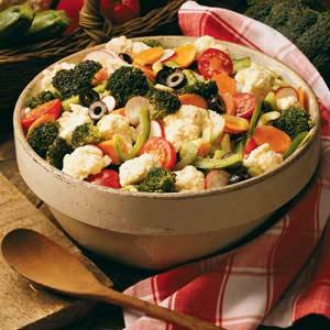 Marinated vegetable salad photo 1