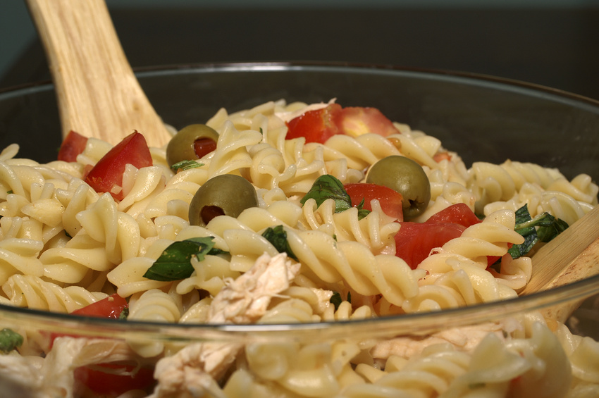 Mexican chicken pasta salad photo 2