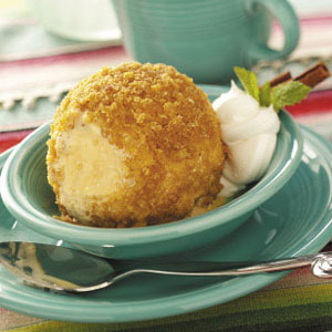 Mexican fried ice cream photo 1