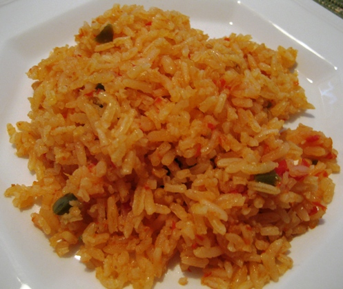Mexican rice photo 1