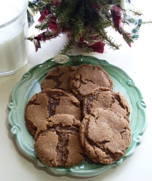 Molasses sugar cookies photo 1