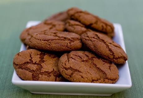 Molasses sugar cookies photo 3