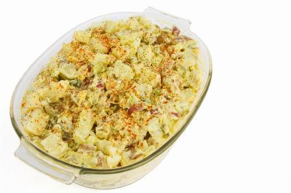 Mustard potato salad photo 3