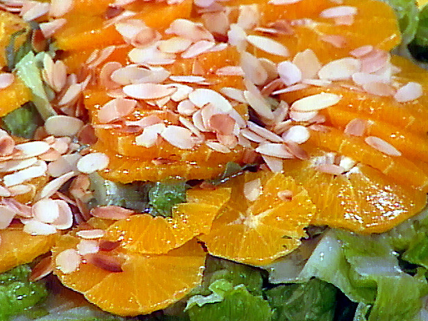 Orange almond salad photo 1
