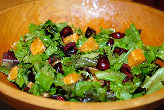 Orange almond salad photo 3