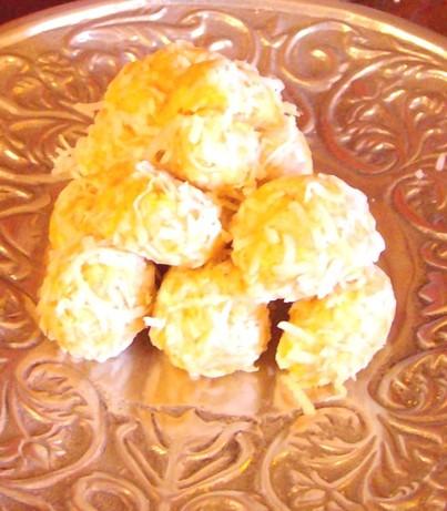 Orange balls photo 1
