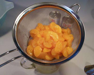 Orange cream salad photo 1
