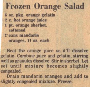 Orange salad photo 1