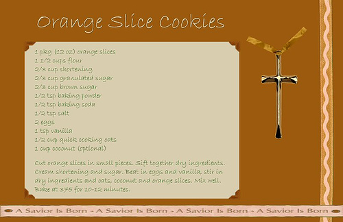 Orange slice cookies photo 7