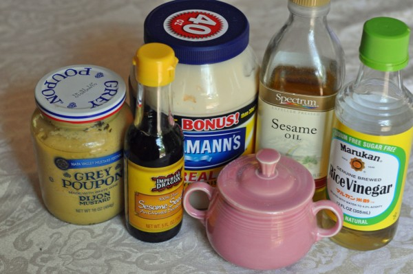 Oriental salad dressing photo 2