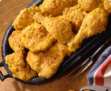 Oven fried chicken photo 2