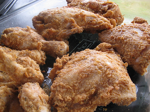 Oven fried chicken photo 1
