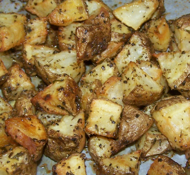 Oven fried potatoes photo 2