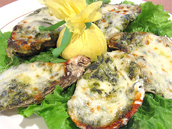 Oysters rockefeller soup photo 1