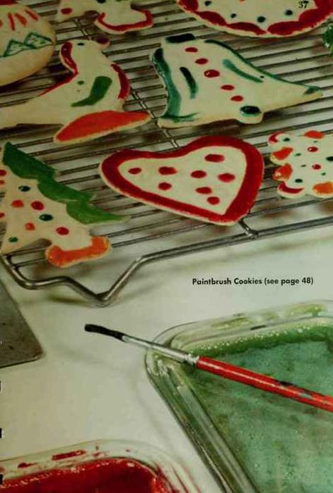 Paintbrush cookies photo 2
