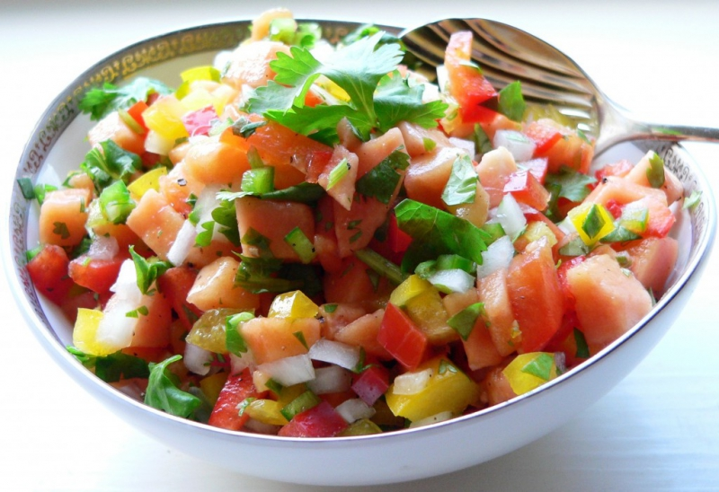Papaya salsa photo 1