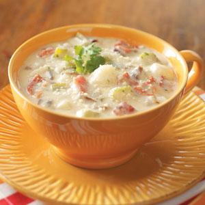 Parmesan potato soup photo 2