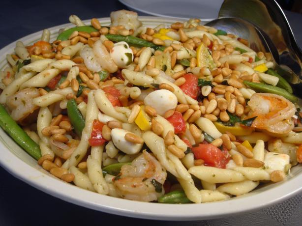 Pasta primavera with shrimp photo 3