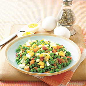 Pea salad photo 1