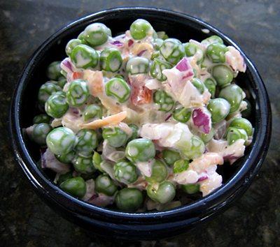 Pea salad photo 2